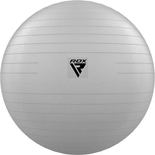 RDX Gymnastikball Sitzball Extra Dicker Yoga Pezziball Fitness Pilates Balance Ball Stuhl, Anti-Berst Stabilitätsball mit Luftpumpe Schwangerschaft Büro Core Hause Fitnessstudio Training (MEHRWEG)