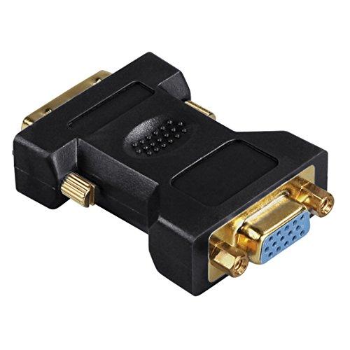 Hama DVI - VGA -Adapter, DVI-Stecker - VGA-Kupplung, vergoldet, geschirmt