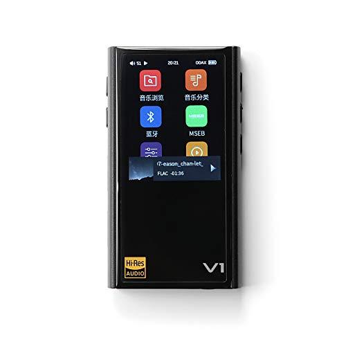 TempoTec V1A ミニロスレスデジタルオーディオプレイヤー V1A金属ハウジングコンデンサスクリーンを持って ハイレゾ認定されたポータブルHIFI音楽プレイヤー 独立開発されたコントロールチップとAKM4377ECB D/Aコンバーター 15H再生時間を持ったDAP