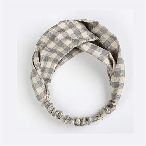 Dameshaarband, hoofdbedekking, elastische haarband van geknoopt net, haarband kapselhoofdbedekking, 8 stuks