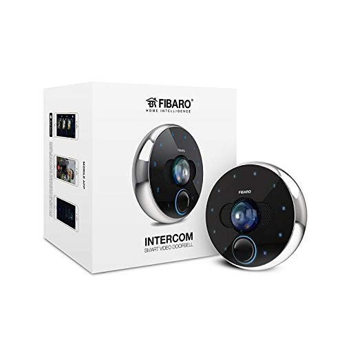 FIBARO Intercom Video-Türtelefon, Schwarz