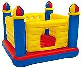 JoinBuy.R Aufblasbares Kinder-Trampolin für drinnen und draußen, Kindergarten-Spielplatz,...
