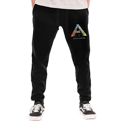 Jingliwang Ark Survival Evolved Herren Lange Hose Jogger Jogginghose Trainingshose Sporthose mit Taschen