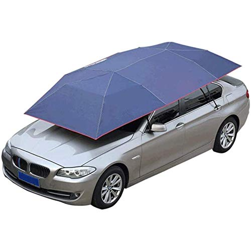 Fly YUTING Garden Parasols Car Tent,Fully Automatic,Folded Portable Car Umbrella Tent Cover Movable,Four-Season Tent, Snow Wind Proof Shelters,C