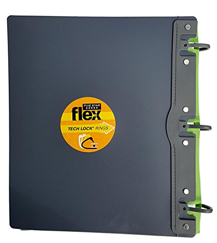 Five Star Flex Hybrid NoteBinder, 1 Inch Binder, Notebook and Binder All-in-One, Color Selected For You, 1 Count (29104) Photo #2
