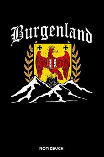 Burgenland: Notizbuch für Burgenländer | liniert | 120 Seiten | ca. A5 Format (15.24cm x 22.86 cm)