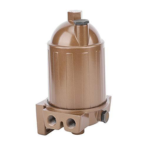 Kraftstoff-Wasserabscheider, Multifunktions-Kompakt-110A-Bootsmotor Klarer Dieselkraftstofffilter Wasserabscheider-Filter für Yachttankschiff