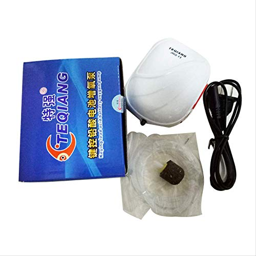 NOBRAND WHSG Oplaadbare Mute Aerator Pomp, Kleine Tank Aerator, Vistank Trachea Aerator