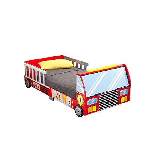 KidKraft Fire Truck Toddler Bed