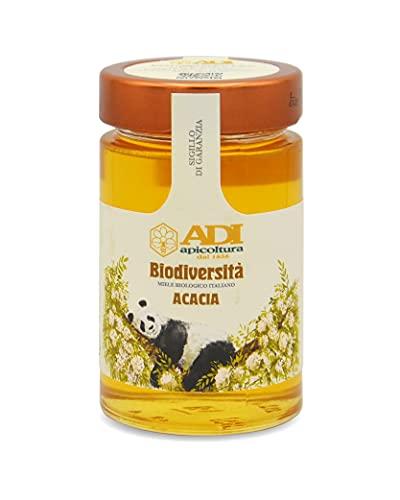 ADI Apicoltura Miele Italiano Bio di Acacia Biodiversità, 250 G