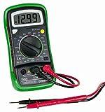 DVM850BL - Handheld Digital Multimeter, DC Current, AC/DC Voltage, Battery, Continuity, Diode, Resistance, 3.5 (DVM850BL) (Pack of 2)
