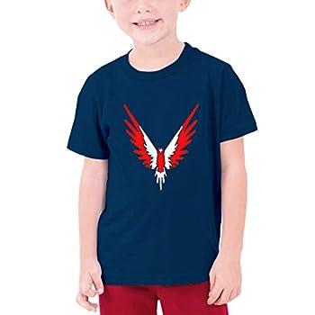 Logan Paul Maverick Youth Cotton Short Sleeve T Shirt Navy