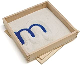montessori sand tray with lid