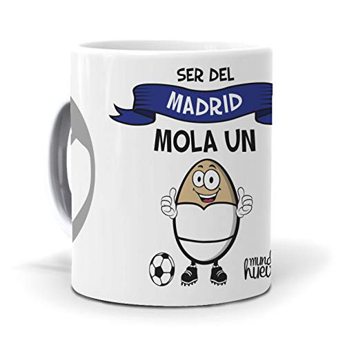 Taza Ser del Madrid Mola un Huevo