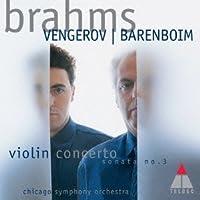 Brahms Violin Concerto by Maxim Vengerov (2013-05-29)