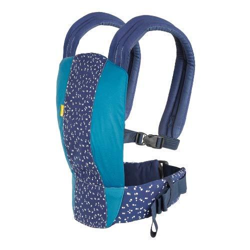 Badabulle Babytrage Easy & Go - Bauch und Rückentrage für Neugeborene mit flexibler Größenanpassung, ab der Geburt bis 15kg