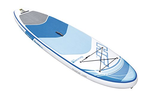 Bestway Hydro- Force Oceana Tech Juego de Tabla de Remo Hinchable,  Unisex Adulto,  10  x 33