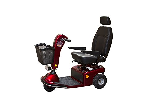 Best Bargain Shoprider Sunrunner Three Wheel Personal Travel Scooter