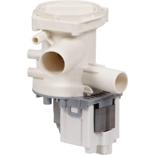 Alternativ Magnet Laugenpumpe, Leistung: 230 V / 50 Hz / 30 Watt, Einlauf: 30mm, Ablauf: 24mm wie Original Nr: 142154, passend für: Bosch und Siemens Geräte