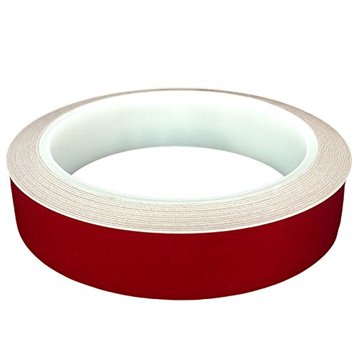 DonDo 3M 610C Reflektierendes Klebeband Reflexfolie Konturmarkierung Rot 20mm x 10m