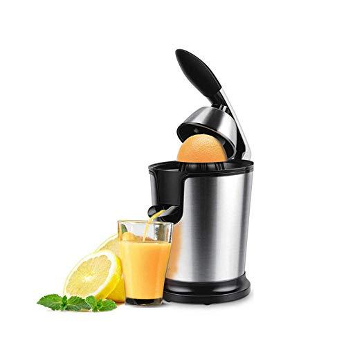 Exprimidor de cítricos eléctrico, apto para naranja, limón, pomelo, acero inoxidable 160...