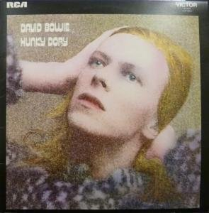 HUNKY DORY LP (VINYL ALBUM) UK RCA 1971