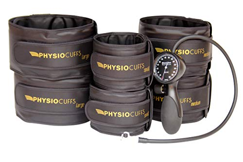 Physical Therapy Tools Blood Flow Restriction Cuffs - BFR Cuffs (Medium)