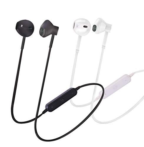 Auriculares deportivos inalámbricos, auriculares Bluetooth con protección IPX5, graves intensos, 8...