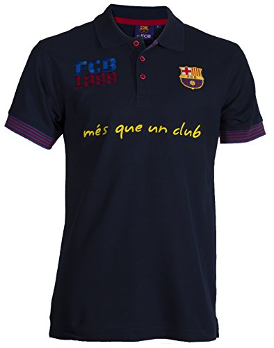 Fc Barcelone Polo Barça - Collection Officielle Taille Adulte Homme XXL