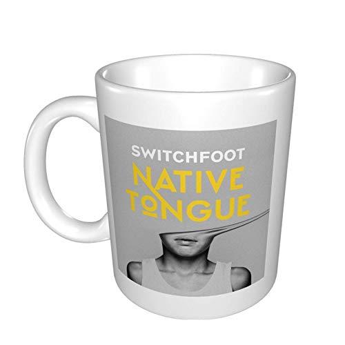 Switchfoot Langue Native Tasse Marque Tasse Tasse Tasse à café Tasse à thé Tasses à vin Ajustement Bureau Maison Voyage Tasses en céramique