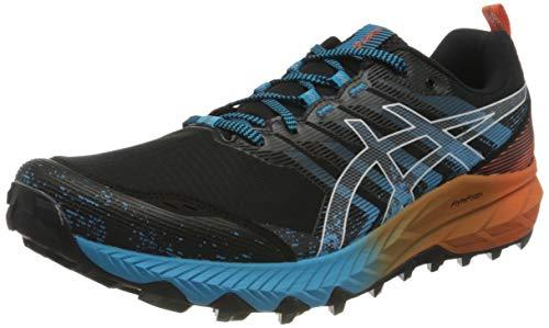 Asics Gel-Trabuco 9, Trail Running Shoe Hombre, Black/White, 43.5 EU