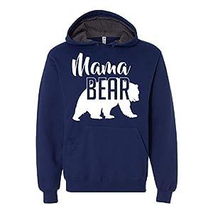 Mama Bear Hoodie Mom Women Soft Hoodie Adult Unisex Men's Women's