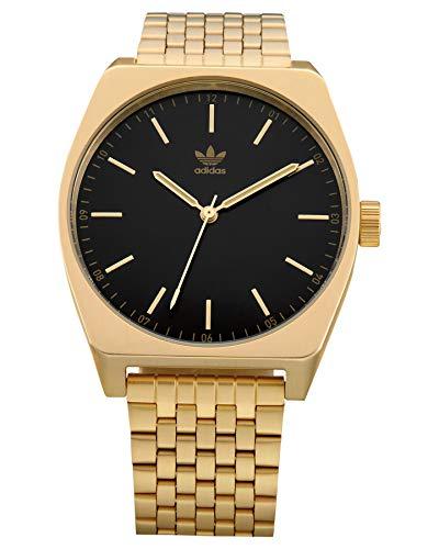 Adidas by Nixon Unisex– Erwachsene Analog Japanischer Quarz Uhr mit Edelstahl Armband Z02-1604-00