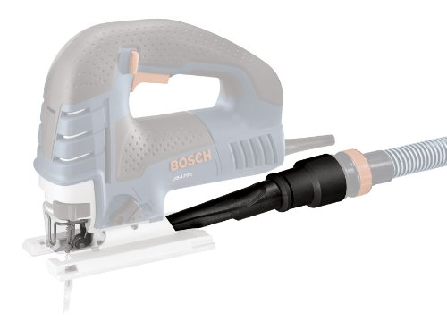BOSCH JA1007 Dust Collection Kit for JS470E-Series Jig Saws, Black