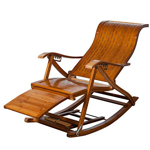 HUAQINEI Silla de jardín reclinable Vintage Silla de relaja