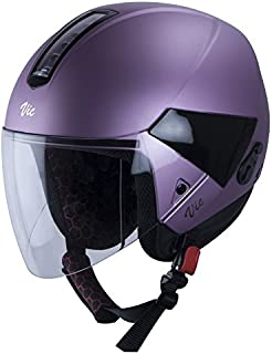 Steelbird Hi-Gn SBH-5 VIC Female Glossy Pale Purple with Plain Visor,580 mm