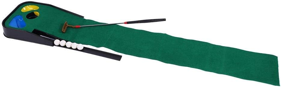 3 Golf Animer and price revision Holes Putting Mat Clu Telescopic Toy Max 66% OFF Kit