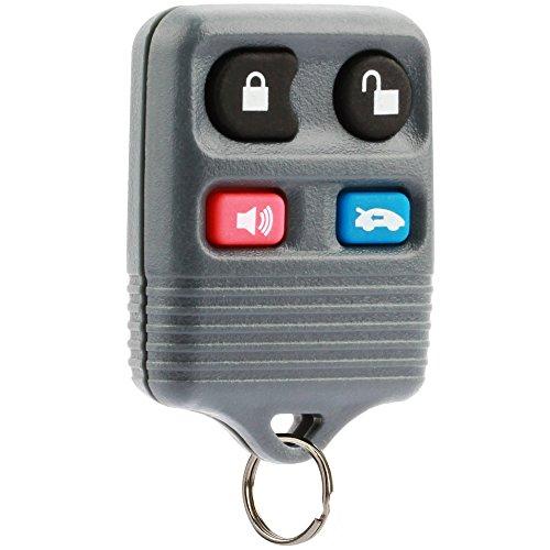 Car Key Fob Keyless Entry Remote fits Ford Crown Victoria/Lincoln Continental Mark VIII Town Car/Mercury Grand Marquis (CWTWB1U343, LHJ002)