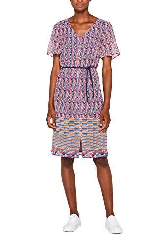 ESPRIT Damen 049EE1E016 Kleid, Rot (Coral Red 640), (Herstellergröße: 38)