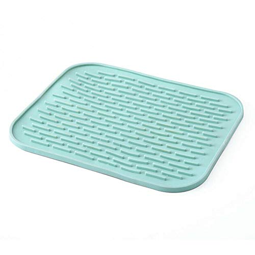 Baifeng Mehrzweck-Silikon-Isoliermatte, hitzebeständig, Geschirrunterlage für Zuhause, Küche