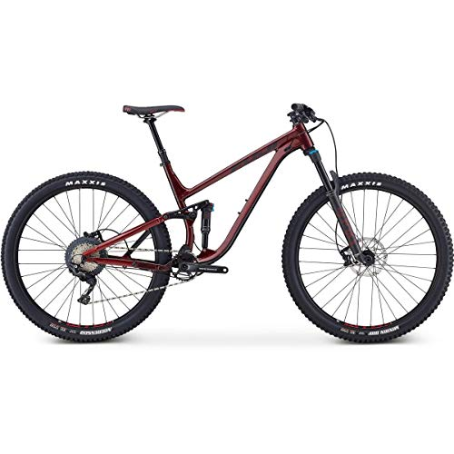 Fuji Rakan 29 1.3 Full Suspension Bike 2019 Ox Blood 48cm (19
