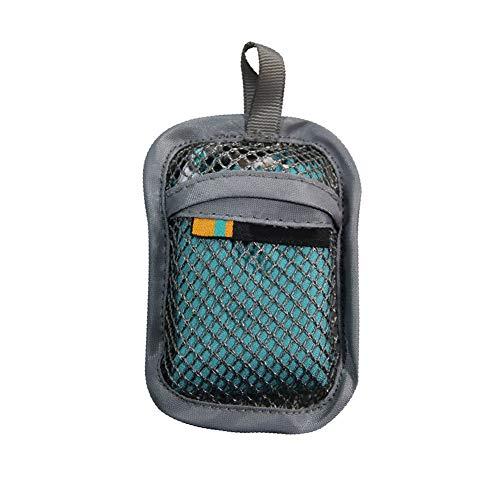 GY Tragbares Sporthandtuch, Saugfähig Schnell Trocknend (40 * 40 cm) Superfaser-Handtuch Ultraleicht Geeignet Für Fitness Laufen Reisen,Blue,OneSize