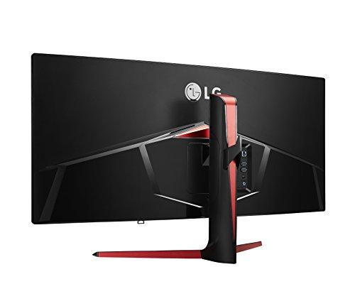 LG 34UC79G-B 86,36 cm (34 Zoll) Curved 21:9 UltraWide™ Full HD IPS Gaming Monitor (144 Hz, AMD Radeon FreeSync, DAS Mode), schwarz