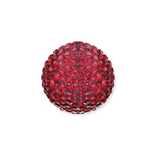Engelsrufer Rot Kristall Klangkugel Größe 14 mm