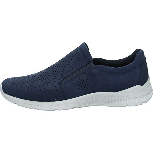 Ecco Herren Irving Slip On Sneaker, Blau (Navy 2058), 43 EU