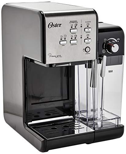 Prima Latte Espresso Coffee Maker, Black, 110v, Oster