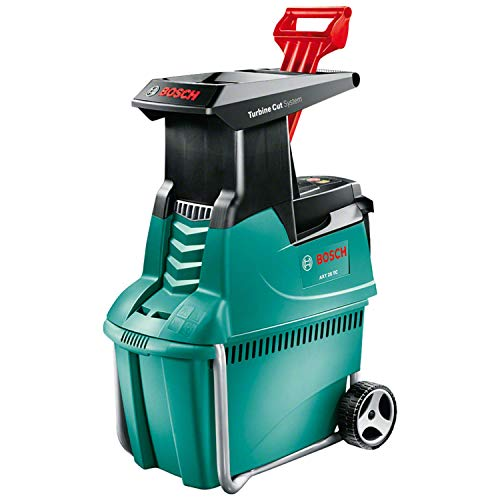 Bosch Shredder AXT 25 TC (plunger for trimmed material, 53-litre collection box, cardboard box,...