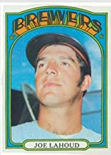 1972 Topps #321 Joe Lahoud Baseball Card EX-MT *