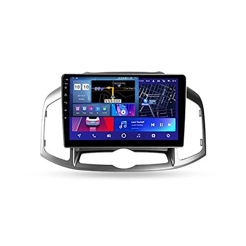 Android 10.0 Car Stereo Double DIN Radio para Chevrolet Captiva 1 2011-2016 Navegación GPS Reproductor Multimedia de 10 '' Receptor de Video Bluetooth con 4G / 5G WiFi SWC DSP USB Carplay