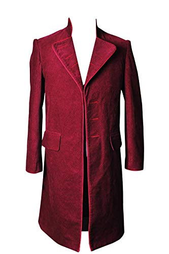 Charlie and The Chocolate Factory Willy Wonka Cosplay Costume Coat S